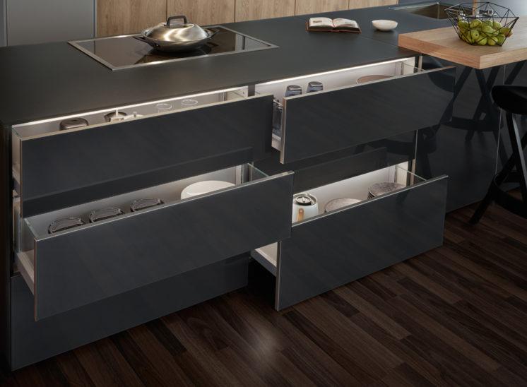 modele cuisine style moderne SYNTHIA IOS LARGO LG