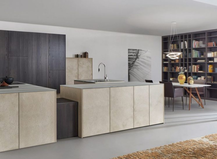 modele cuisine style moderne topos stone